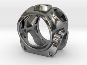 1086 ToolRing - size 8 (18,19 mm) in Polished Silver