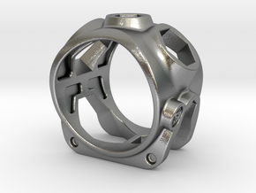 1086 ToolRing - size 12 (21,40mm) in Natural Silver
