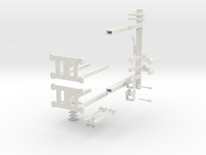 MINI Cross Over machine PT1 in White Natural Versatile Plastic