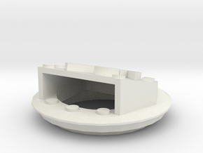 Hatch Cover in White Natural Versatile Plastic