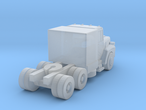 Mack Semi Truck 3 - Z scale  in Smooth Fine Detail Plastic