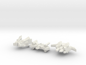 Outsider Strike Craft in White Natural Versatile Plastic