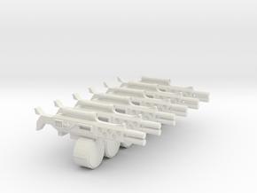 Shootas Mrk 1 in White Natural Versatile Plastic
