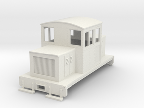 HOn30 Centercab conversion for Kato 11-105 chassis in White Strong & Flexible