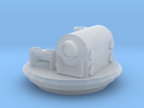 Hatch with Targeter and periscope in Smooth Fine Detail Plastic