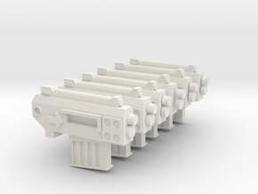 Mrk 1 Pistols in White Natural Versatile Plastic