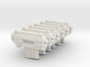 Mrk 1 Pistols in White Natural Versatile Plastic