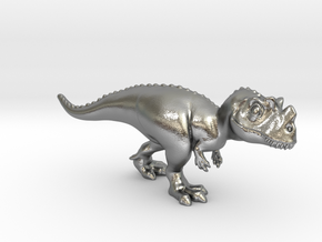 Ceratosaurus Chubbie Krentz in Natural Silver