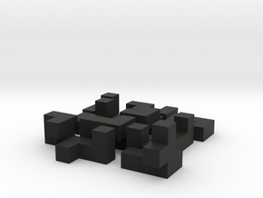 Building a cube (medium) in Black Strong & Flexible