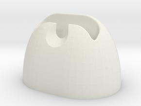 Nexus 1 Dock in White Natural Versatile Plastic