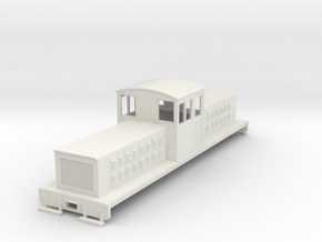 HOn30 long center cab body for Tomix TM-05 in White Strong & Flexible