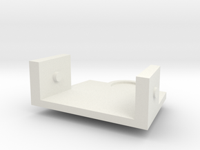 Treadwell Neck 3 in White Natural Versatile Plastic