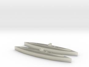 U-25 (Type IA) 1:1800 x2 in Transparent Acrylic