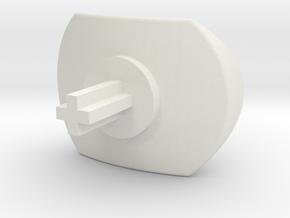 n52te thumb pad mod in White Natural Versatile Plastic