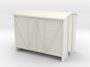 OO9 Goods van paneled door in White Strong & Flexible