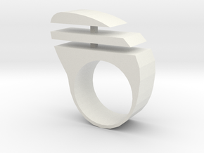 ringtiras1 in White Natural Versatile Plastic