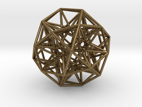 Sphere Small in Natural Bronze