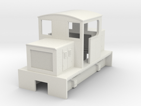 HOn30 centercab body for Kato 11-103 (OC) in White Natural Versatile Plastic