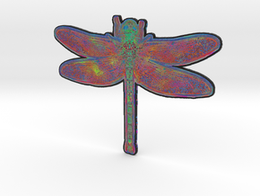 Dragonfly N in Full Color Sandstone