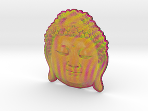 BigBuddhaheadorange in Full Color Sandstone