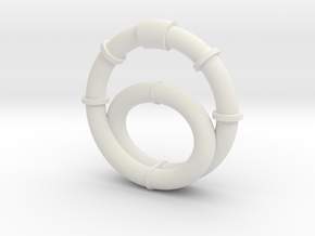 Revised Tube Assembly in White Strong & Flexible