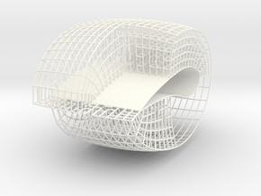 wing in White Processed Versatile Plastic