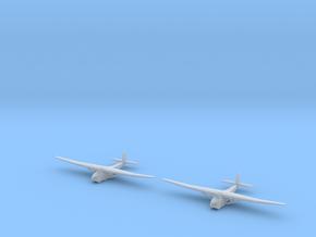 Me-321-German Glider X2 in Smooth Fine Detail Plastic
