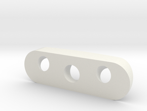 Shaft Seal Cover v2 in White Natural Versatile Plastic