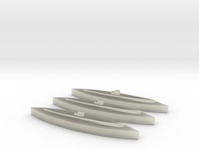 U-459 (Type XIV) 1/1800 x3 in Transparent Acrylic