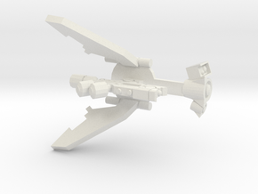 Laser Drone Conversion in White Natural Versatile Plastic
