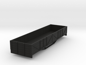 OO9 boige 4 plank open wagon  in Black Strong & Flexible