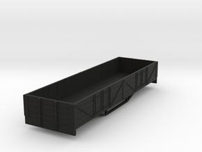 OO9 boige 4 plank open wagon  in Black Strong & Flexible