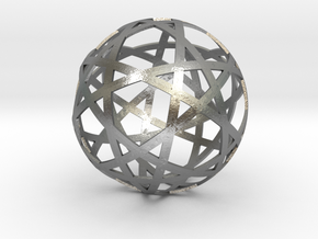Stripsphere10  in Natural Silver