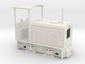 Feldbahn LKM Ns2  (Spur 0e/f) 1:45 in White Strong & Flexible