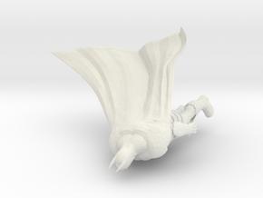 SuperHero 7CM in White Natural Versatile Plastic