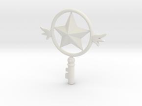1/3 Sakura Clow key Star  in White Natural Versatile Plastic