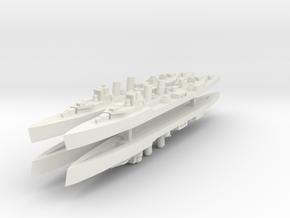 Principe Alfonso 1:3000 X4 in White Natural Versatile Plastic