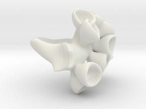 Ring ti 1 in White Natural Versatile Plastic