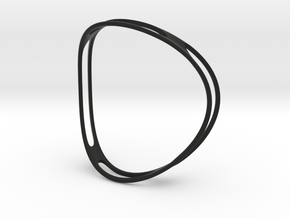 Curved ring in Black Strong & Flexible