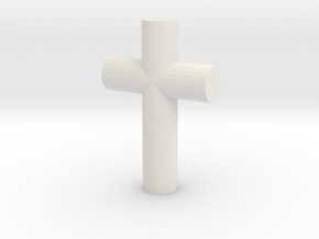 cross in White Strong & Flexible