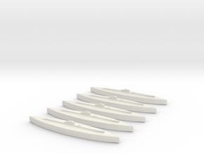 Rubis (Saphir class) 1:1800 x5 in White Natural Versatile Plastic
