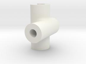 WireHolder in White Natural Versatile Plastic