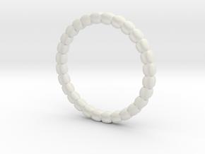 Vertebral ring in White Natural Versatile Plastic