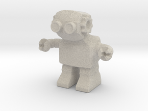 Diesel Bot v1 in Natural Sandstone