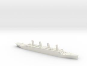 Titanic 1:2400 in White Natural Versatile Plastic