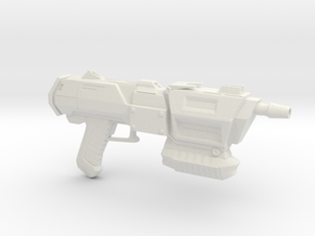 Assault Blaster in White Natural Versatile Plastic