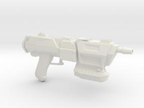Assault Blaster in White Strong & Flexible