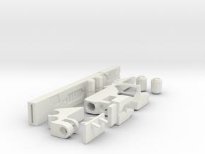 railgun for XV88 in White Natural Versatile Plastic
