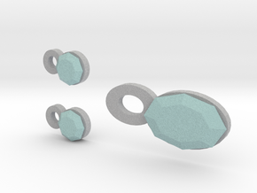 Lara Earrings And Pendant in Full Color Sandstone