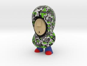 7cm Sibi Hoodie in Full Color Sandstone
